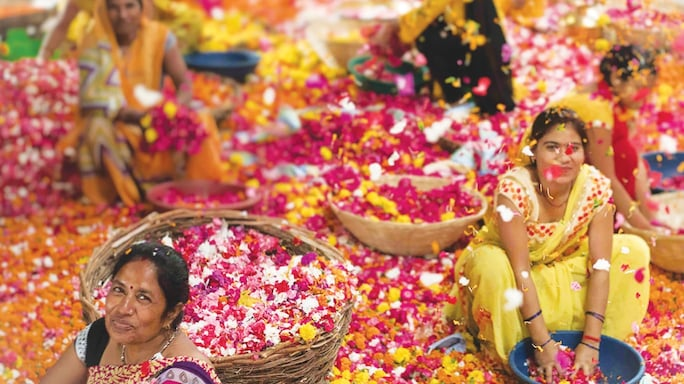 Phool.co has provided much-needed jobs to a number of women as flower processors