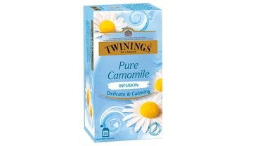 Unwind with a soothing cup of Chamomile tea